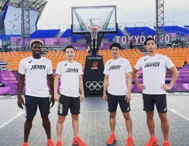 オリンピックバスケ3×3日本代表メンバーの経歴を写真付き紹介