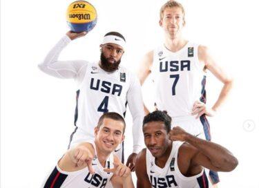 オリンピックバスケ3×3アメリカ代表メンバーの経歴を写真付き紹介