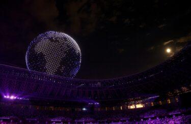 オリンピック開会式ドローン動画!SNSや海外の反応を紹介!