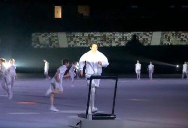 ランニングマシンの意味は?オリンピック開会式演出の意味を調査!
